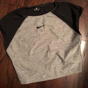Nike Dri Fit Running Crop Top Size M